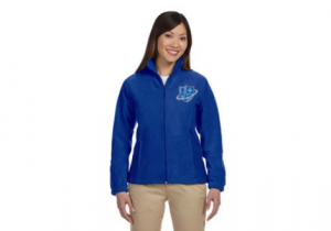 ladies-blue-fleece