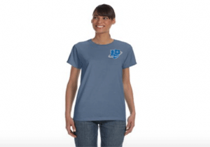 Comfort Ladies 5.4oz Ringspun Garmet Dued T-Shirt